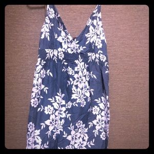 Aloha print dress size large